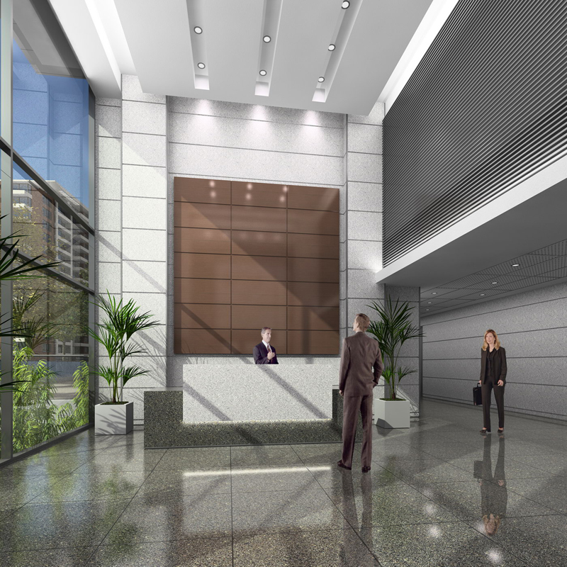 Inmobiliar a los ceibos for Accesos arquitectura